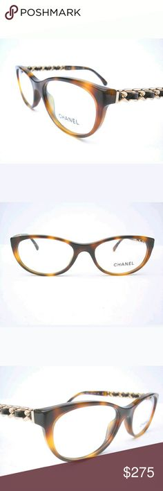 Chanel Eyeglasses New and authentic  Chanel Eyeglasses  Brown frame  Size 51-17-135 Includes original Chanel case only Chanel  Accessories Glasses