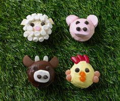 Farm Animal Fairy Cupcakes #mycake