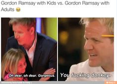 Gordon Ramsay logic