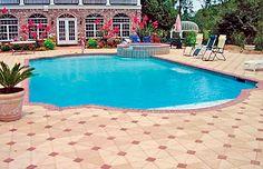 Roman / Grecian Pools - Blue Haven Custom Swimming Pool and Spa Builders