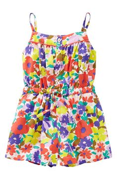 Mini Boden 'Pretty Playsuit' Romper (Little Girls & Big Girls) | Nordstrom