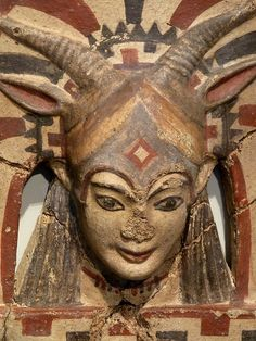 Etruscan statue--- The Etruscan did not represent the Baphomet in the style that the Caucasian later on did....Pre-Baphomet ideology