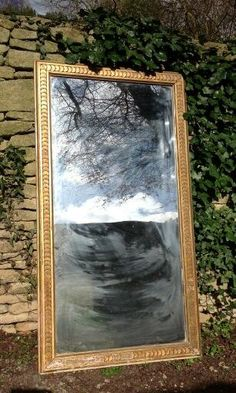 New Arrival:                                         19th C. Gilt French Wall Mirror
