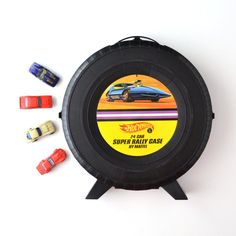 Vintage Hot Wheels Case  Super Rally Case  Mattel Hot by KOLORIZE, $35.00