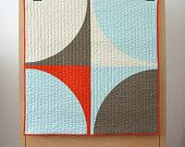 bperrino-etsy- Graphic Modern Baby Quilt - POP and many fun pillows