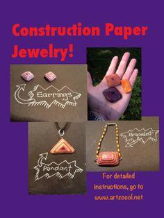 Construction paper stones! – ARTZCOOL'S BLOG!