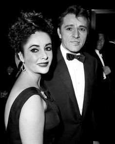 "Elizabeth Taylor and Richard Burton enter a midtown nightclub for a party after his opening on Broadway in ""Hamlet,"" in which Burton played the title role. The two wed in 1964."
