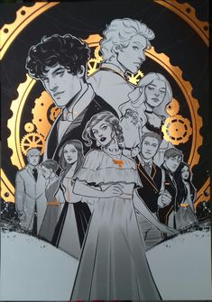Livros Cassandra Clare, Cassandra Clare Books, Fanart, Clary E Jace, Clary Fray, Jace Lightwood, Tessa Gray, Clockwork Princess, Clockwork Angel