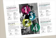 Ville de Rennes livret brochure graphiste dépliant mise en page