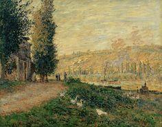 La Berge à Lavacourt (C Monet - W 495) | Huile sur toile, 18… | Flickr