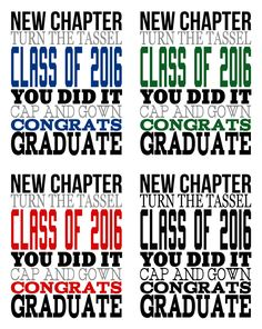 Graduation Party Ideas and Printables 4