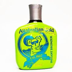 Australian Gold Classic Sydney Instant Bronzer - Organic, Paraben and Silicone Free 8.5 Oz by Australian Gold. $20.91. Organic, Paraben and silicone. Want to look like you just walked off the beaches down under? Our koala bear, Sydney, has just the thing for you! The Classic Sydney collection is organic, paraben and silicone free, sure to get you a dark Aussie tan color! This ultra dark, all natural bronzer will give you an eye-catching glow while it moisturizes and nourishes...