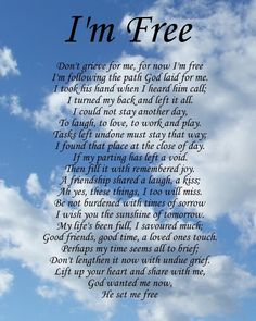 I'm Free Memorial Poem Birthday Mothers Day Funeral Christmas Gift Present in Home, Furniture & DIY, Celebrations & Occasions, Other Celebrations & Occasions Mothers Day Bible Verse, Mother Poems, Mom Poems, Mother Quotes, Loss Of Mother Poem, Poems About Mothers, Bible Verses About Death, Sister Poems, Kids Poems
