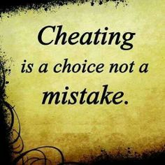 A leopard doesn't change it's spots.if they cheated with you, they'll cheat on you.