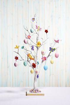 Hobbycraft Easter white tree #easter