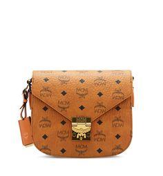 PATRICIA VISETOS CROSSBODY bag in Cognac by MCM