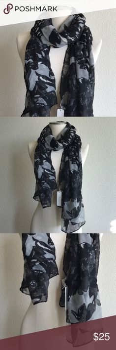 Charming Charlie Scarf Printed lightweight scarf. 100% polyester. Brand new with tags. Charming Charlie Accessories Scarves & Wraps