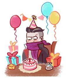 "lordofdorknessgundam: ""happy birthday, my sweet child """