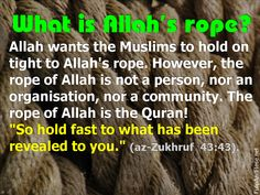 [TR] What is Allah's rope?