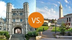 Princeton University Vs University Of California Berkeley