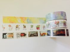 Boxed Washi Tape in 3 Beautiful Patterns by GoatGirlMH on Etsy