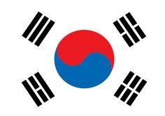 태극기 일러스트 ai 무료파일 Korean flag illustration - Urbanbrush