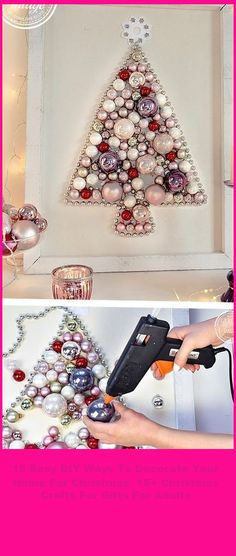 Christmas Decorations don't have to be complicated to be elegant. We're sharing our favorite easy DIY Christmas decor ideas and tricks. They work for EVERY budget and space from dollar store to posh and apartment, classroom, or office. #Christmas #Decorate #Easy #Ways #Your christmas crafts for gifts for adults 15 Easy DIY Ways To Decorate Your Home For Christmas 15+ Christmas Crafts For Gifts For Adults Christmas Crafts For Gifts For Adults, Diy Christmas Decorations Easy, Holiday Decor, Office Christmas, Christmas Home, Dollar Stores, Decorating Your Home, Easy Diy, Budget