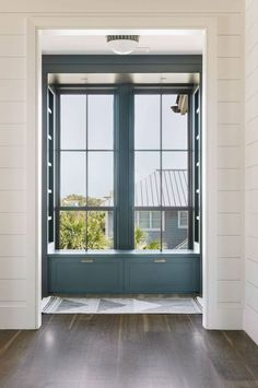 Cortney Bishop millwork window paint color shiplap