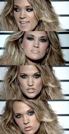 Carrie Underwood smokey eye