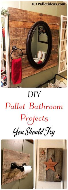 DIY Pallet Bathroom Projects You Should Try | 101 Pallet Ideas