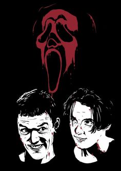 Horror Movie Posters, Horror Films, Scream Movie, Scream 1, Scream Franchise, Ghostface Scream, Slasher Movies, Horror Artwork, Ghost Faces