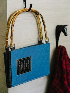 Homemade Christmas Gift Ideas : Decorating : Home & Garden Television  Vintage book handbag