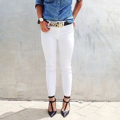 Off the Cuff: 6 Cool-Girl Ways to Cuff Your Jeans: Like Jessica Alba, you know the key to being a street style ace: an ample supply of cool-girl denim.