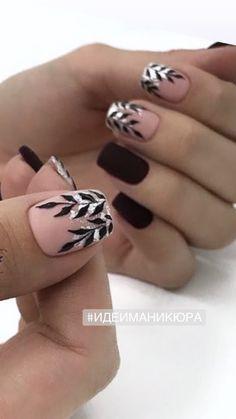 Short Nail Designs, Cute Nail Designs, Gorgeous Nails, Love Nails, Multicolored Nails, Elegant Nail Art, Latest Nail Art, Girls Nails, Stylish Nails