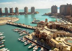 Marina View from Porto Arabia