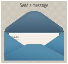 create a unique contact form with css3 transitions