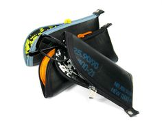 Brillenetuis - Brillen-Schlauch aus Motorradschlauch - ein Designerstück von KWD bei DaWanda