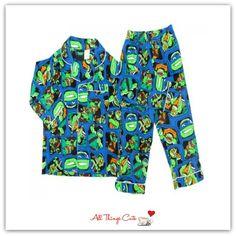 Teenage Mutant Ninja Turtles Blue Winter Pyjamas #teenagemutantninjaturtles #TMNT #superhero #winterjarmies
