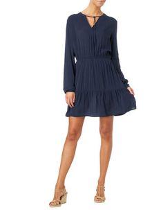 Damen Kleid aus reiner Viskose