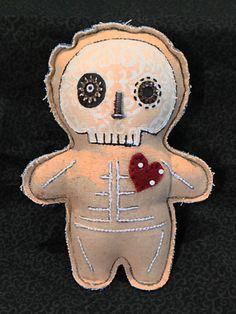 Handmade Primitive Voodoo Doll Pincushion