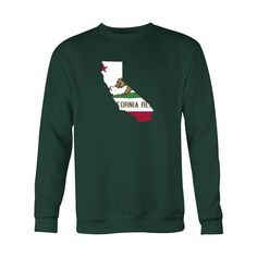 *HOLIDAY SPECIAL* California Flag Crewneck Sweatshirt