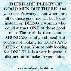 www.menofqualitydoexist.com Love Articles, A Good Man, No Worries