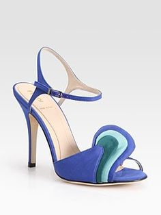 Beautiful Fendi sandals. I would wear these to class, H-E-B, the dog park..you name it. Carrie Bradshaw called, and she's impressed.