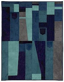 """""""Work Clothes"""" by Loretta Pettway Bennett (youngest living quilt artist and member of Quilters of Gee's Bend)"""