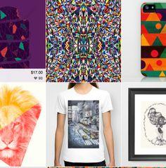 Society 6 - great website for art!