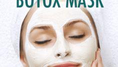 Natural Botox: Dr Oz Wrinkle Cure Treatment & Botox Mask