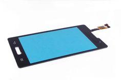 Сенсор LG E440 Optimus L4 II (черный)  Сенсор LG E440 Optimus L4 II (черный)