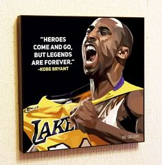Kobe Bryant NBA Backetball Motivational Quotes Wall Decals Pop Art Gifts Portrait Framed Famous Paintings on Acrylic Canvas Poster Prints Artwork Geek Decor Wood Nba Quotes, Motivational Quotes, Kobe Bryant Nba, Portrait, Wall Art Decor, Pop Art, Hero, Gallery, Movie Posters