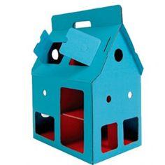 Mobile Home bleu