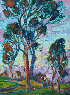Erin Hanson - Purchase Modern Impressionism Original Oil Paintings | Contemporary Landscapes For Sale